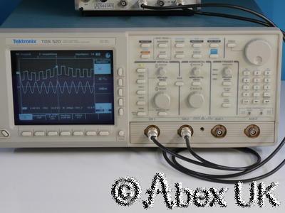 Tektronix TDS520 Digital Oscilloscope 500MHz 500ms 2-Channels FAULTY