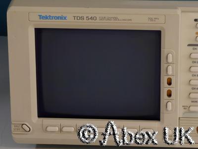 Tektronix TDS540 500MHz 4 Channel Digital Oscilloscope GPIB Spares or Repair