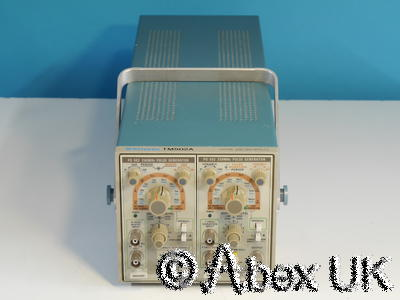 Tektronix TM502A 2-Slot PSU with PG502 & PG503 Pulse Generator 250MHz 1ns