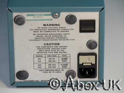 Tektronix TM502A 2-Slot PSU with PG502 & PG503 Pulse Generator 250MHz 1ns