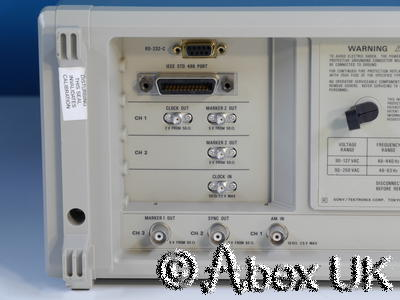 Tektronix (Sony) AWG2021 250Ms/s 2-Channel Arbitrary Waveform Generator