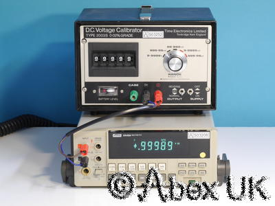 Time 2003s D.C. Voltage Calibrator +/- 0-10V Very Nice
