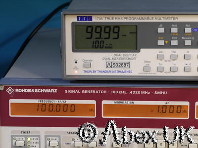 TTI (Thurlby Thandar) 1705 True RMS Multimeter Frequency Counter Capacitance