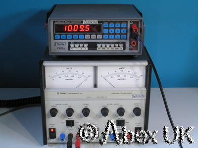Thurlby Thandar (TTI) 1905A 5.5 Digit Intelligent Multimeter DVM/DMM 1/4