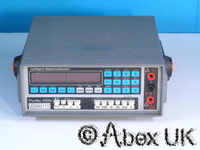 Thurlby Thandar (TTI) 1905A 5.5 Digit Intelligent Multimeter DVM/DMM 3/4