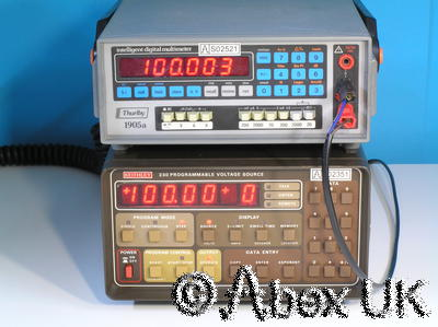 Thurlby Thandar (TTI) 1905A 5.5 Digit Intelligent Multimeter DVM/DMM 4/4