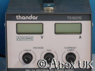 TTI (Thurlby Thandar) TS3021S 0-30V 0-2A Bench Power Supply