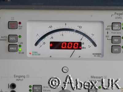Wandel & Goltermann SPM-15 Selective Voltmeter Tracking Generator 10MHz (2)