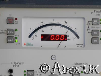 Wandel & Goltermann SPM-15 Selective Voltmeter Tracking Generator 10MHz (2)