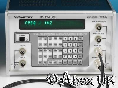 Wavetek 275 Arbitrary Waveform Generator (ARB) 12MHz Programmable (Faulty)