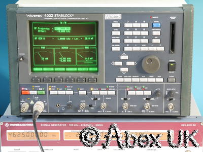 Wavetek Stabilock 4032 1GHz Radio Communication Test Set