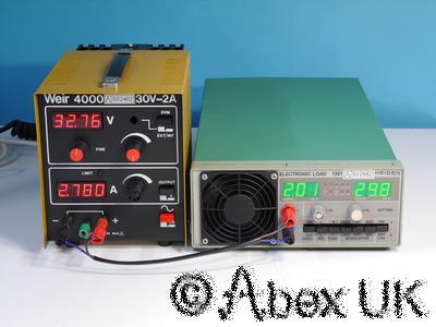 Weir 4000 0-30V 0-2A Bench Power Supply