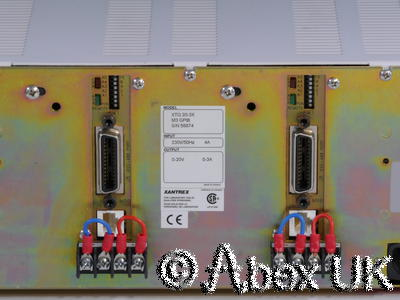 Sorensen / Xantrex XTQ20-3X Programmable Quad PSU 20V 3A with GPIB
