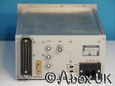 Balzers (Pfeiffer) PKG100 Pirani Cold Cathode Gauge Display / Controller