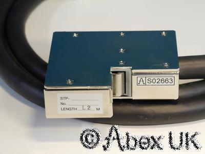 Edwards (BOC) Seiko Seiki D-D-T97024H Turbomolecular Vacuum Pump Cable 2m NOS
