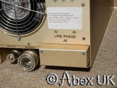 Programmable Power Supply 7kW HF RF Plasma Power Amplifier (AMAT)